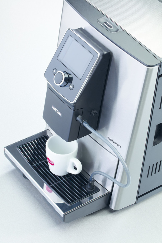 Nivona CafeRomatica 825 Edelstahl - Chrom NICR825
